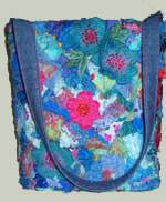 embroidered tub bag